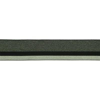 Elastisch Band/Boord 40mm Grijs tinten-004