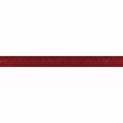 5m Katoenen Bias 20mm-752 Donker Rood