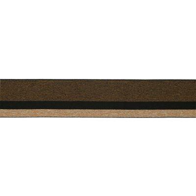 Elastisch Band/Boord 40mm Bruin tinten-898