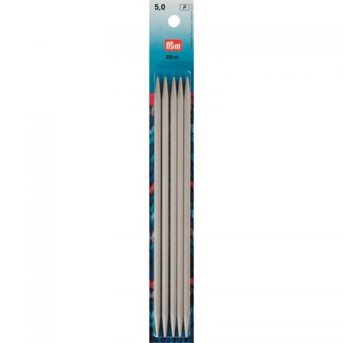 Prym P;5st Kousen Breinaalden 5mm 20cm
