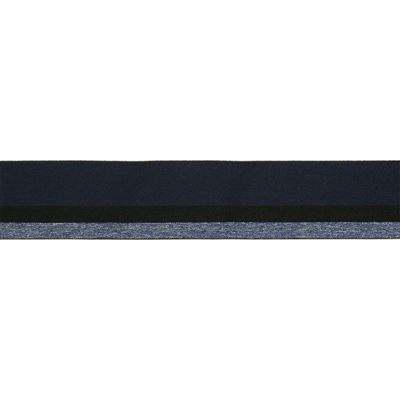 Elastisch Band/Boord 40mm Blauw tinten-210
