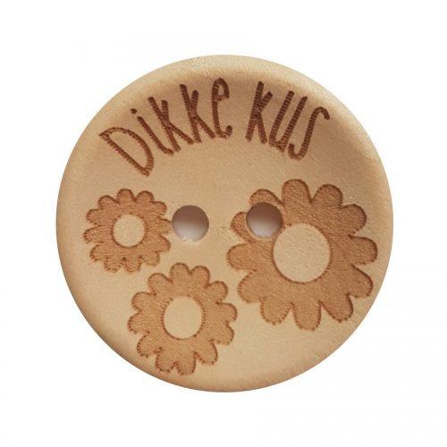 CD Knoop Hout Dikke Kus 25mm