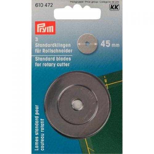 Prym KK;3st Reserve Rolmesjes 45mm