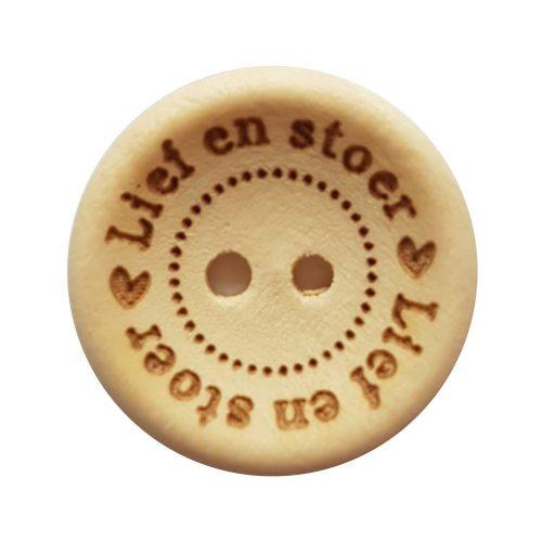 CD Knoop Hout Lief en Stoer 20mm
