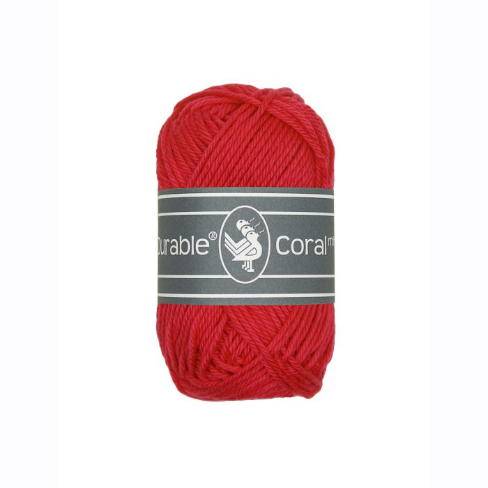 Durable Coral Mini Rood-316