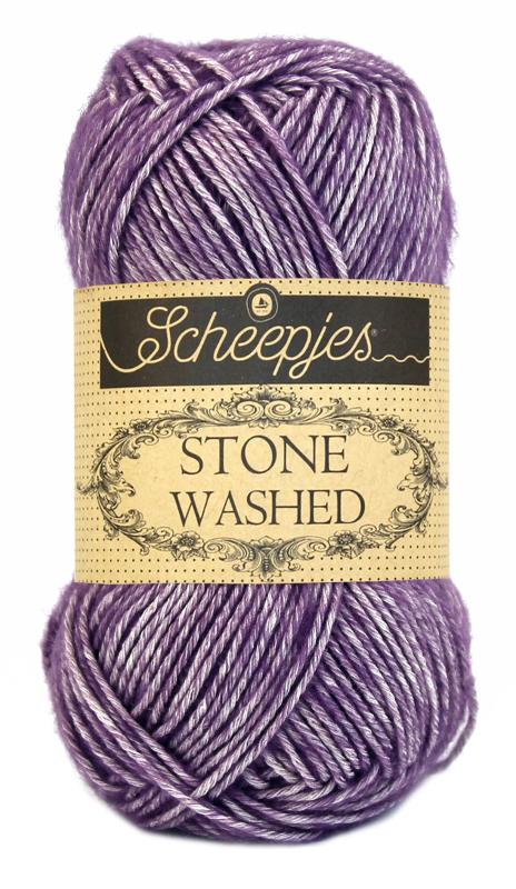 Wol;Stone Washed-811 Deep Amethyst
