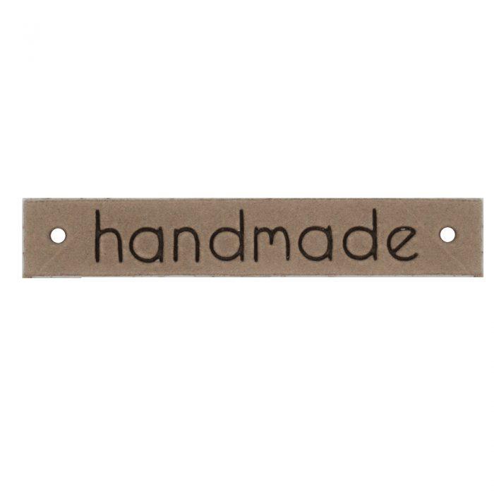 Label Leer Handmade L.Bruin