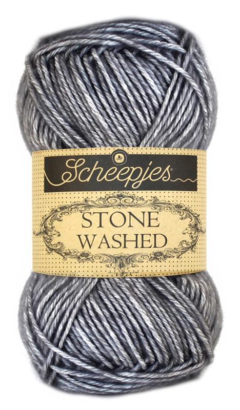 Wol;Stone Washed-802 Smokey Quartz