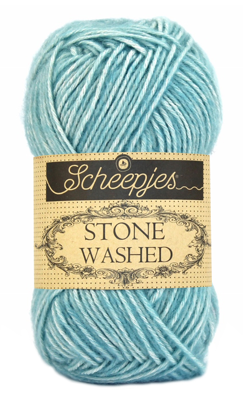 Wol;Stone Washed-813 Amazonite