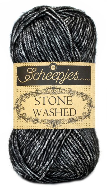Wol;Stone Washed-803 Black Onyx