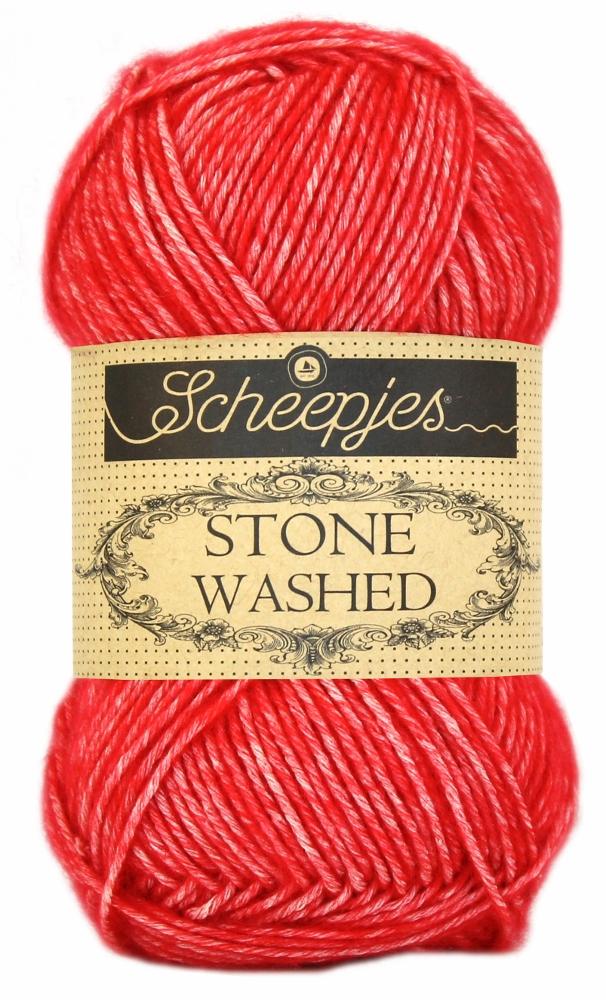 Wol;Stone Washed-823 Carnelian