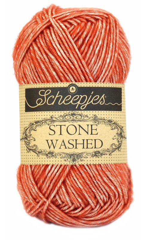 Wol;Stone Washed-816 Coral