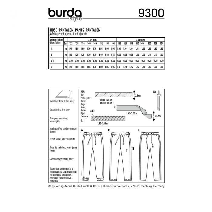 Burda Rood 9300