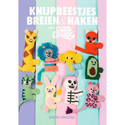 Boek;Knijpbeestjes Haken/Breien (Scheepjes)