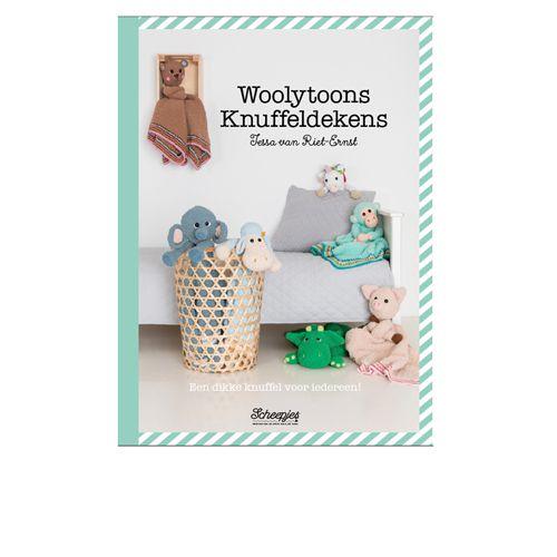 Boek;Woolytoons Knuffeldekens (Scheepjes)