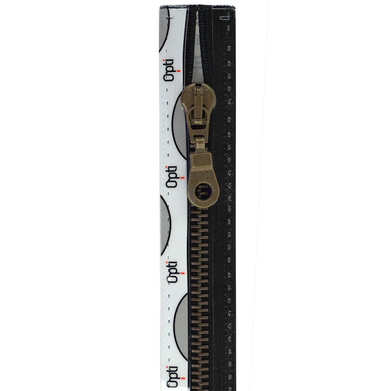 Rits;Opti-Lon M60 Zwart-000